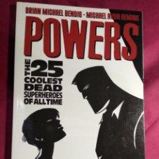 Cómics: POWERS: Nº 12. THE 25 COOLEST DEAD SUPERHEROES OF ALL TIME . BENDIS. OEMING. IMAGE. EN INGLES. Lote 188608907