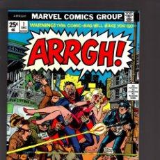 Cómics: ARRGH ! 1 - MARVEL 1974 VFN / DRACULA & VAMPIRES PARODY. Lote 188714743