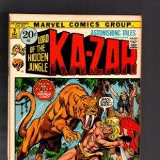Cómics: ASTONISHING TALES 9 - MARVEL 1971 VFN / KA-ZAR DE STAN LEE Y JOHN BUSCEMA. Lote 188715463