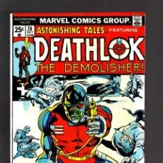 Cómics: ASTONISHING TALES 26 - MARVEL 1974 VG / 2ND DEATHLOK. Lote 188715620