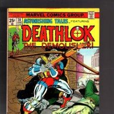 Cómics: ASTONISHING TALES 30 - MARVEL 1975 FN+ / DEATHLOK. Lote 188715717