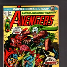 Cómics: AVENGERS 115 - MARVEL 1973 FN. Lote 188717266