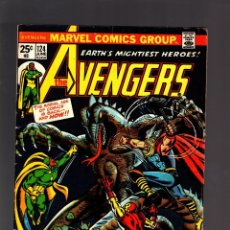 Cómics: AVENGERS 124 - MARVEL 1974 VG+ / STEVE ENGLEHART & JOHN BUSCEMA. Lote 188717570