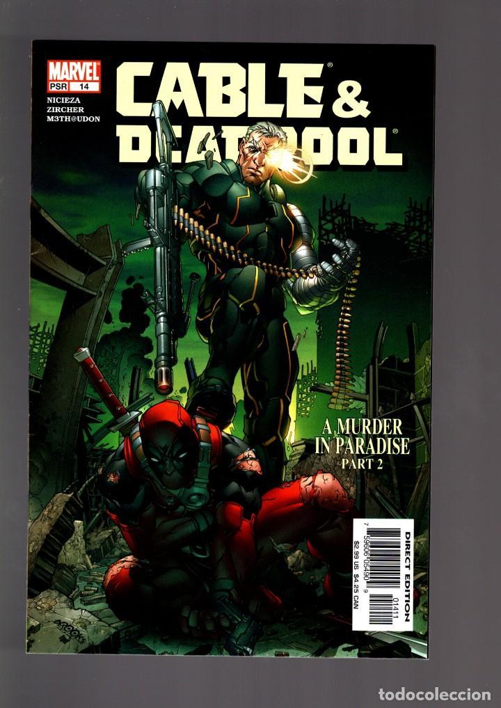CABLE & DEADPOOL 14 - MARVEL 2005 VFN/NM / NICIEZA & ZIRCHER (Tebeos y Comics - Comics Lengua Extranjera - Comics USA)