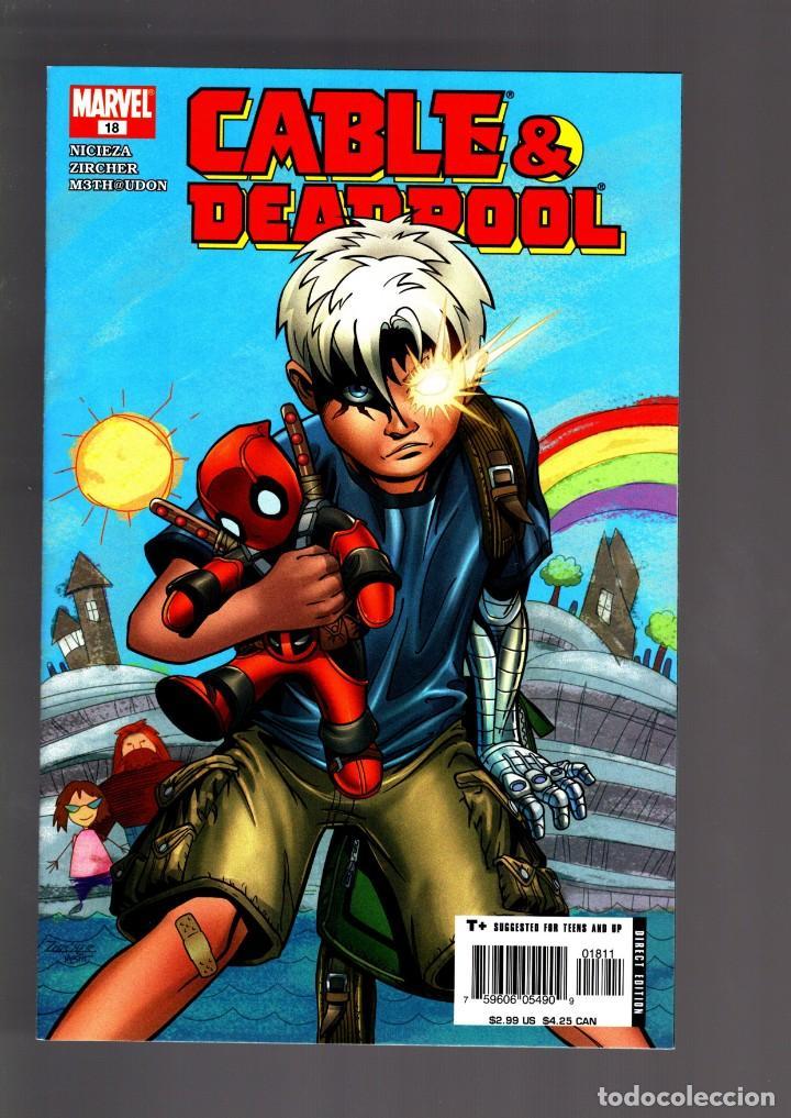 CABLE & DEADPOOL 18 - MARVEL 2005 VFN/NM / NICIEZA & ZIRCHER (Tebeos y Comics - Comics Lengua Extranjera - Comics USA)