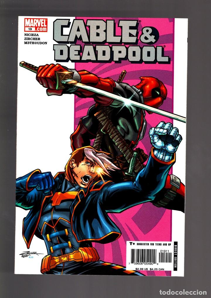CABLE & DEADPOOL 19 - MARVEL 2005 VFN/NM / NICIEZA & ZIRCHER (Tebeos y Comics - Comics Lengua Extranjera - Comics USA)