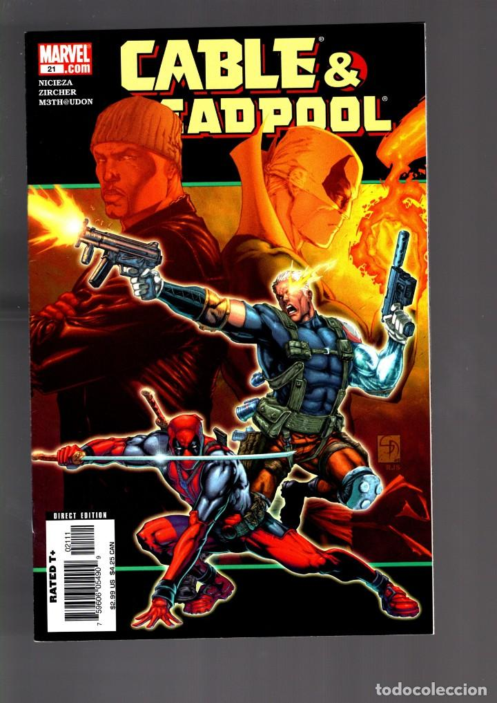 CABLE & DEADPOOL 21 - MARVEL 2005 VFN/NM / NICIEZA & ZIRCHER / POWER-MAN & IRON FIST (Tebeos y Comics - Comics Lengua Extranjera - Comics USA)