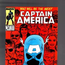 Cómics: CAPTAIN AMERICA 333 - MARVEL 1987 VG / 1ST JOHN WALKER AS NEW CAPTAIN AMERICA. Lote 188789507