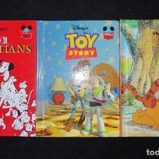 Cómics: 101 DALMATIANS - TOY STORY & WINNIE THE POOH AND TIGGER TOO - GROLIER BOOKS 1999. Lote 188801295