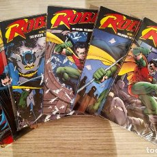Cómics: ROBIN TPB CHUCK DIXON VOLUME (1+2+3+4+5) REBORN+TRIUMPHANT+SOLO+TURNING POINT+WAR OF THE DRAGONS. Lote 189336537