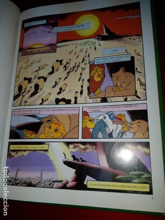 Cómics: COMIC/CUENTO-EL REY LEÓN-DISNEY-BUEN ESTADO GENERAL-VER FOTOS - Foto 15 - 190035546