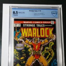 Cómics: EXCEPCIONAL LOTE WARLOCK STRANGE TALES 178 CBCS 8.5 COMIC USA + SUPER HEROES 1 + 5 EXCELENTE VERTICE. Lote 126688699