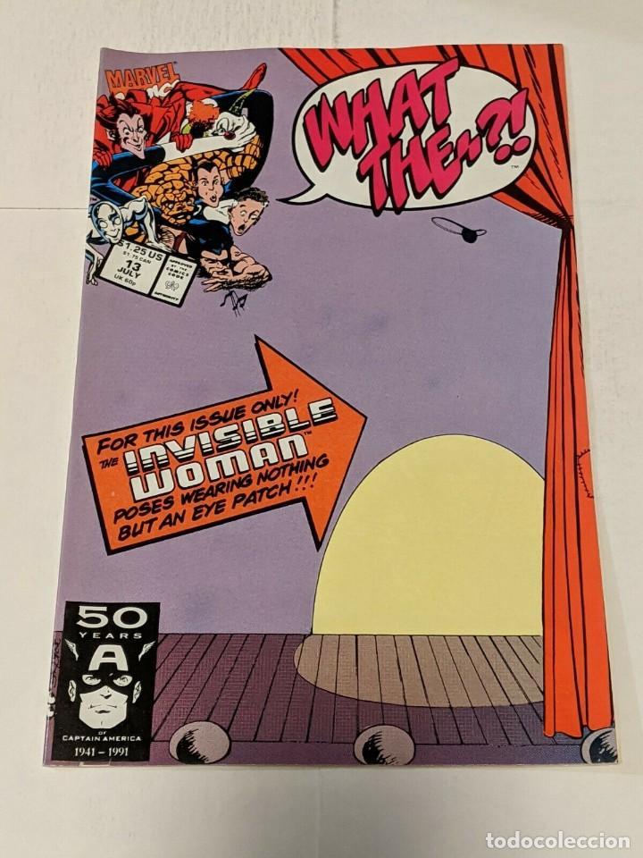 WHAT THE? #13 JULY 1991 MARVEL COMICS SILVER SURFER (Tebeos y Comics - Comics Lengua Extranjera - Comics USA)