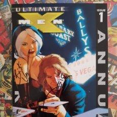 Cómics: X-MEN ANUAL 1 - ULTIMATE - FIRMADO 5 AUTORES !! QUESADA - VAUGHAN - RAYNE - HANNA - ORIGINAL USA -. Lote 191413282