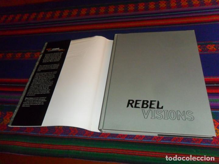 Cómics: REBEL VISIONS THE UNDERGROUND COMIX REVOLUTION 1963 1975, PATRICK ROSENKRANZ. FIRST EDITION 2002. - Foto 3 - 191429727