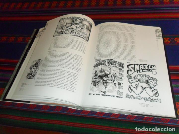 Cómics: REBEL VISIONS THE UNDERGROUND COMIX REVOLUTION 1963 1975, PATRICK ROSENKRANZ. FIRST EDITION 2002. - Foto 5 - 191429727