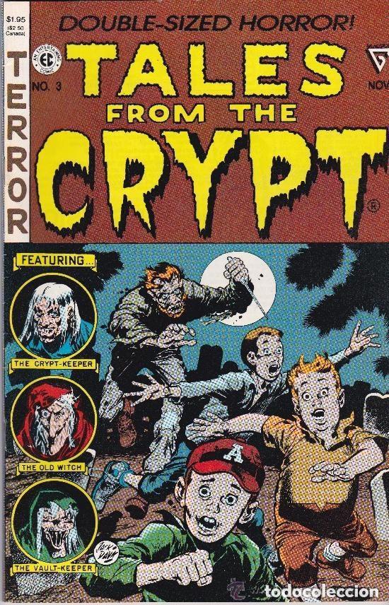 TALES FROM THE CRYP-T #3 1990 NOVEMBER-DOUBLE SIZED HORROR (Tebeos y Comics - Comics Lengua Extranjera - Comics USA)