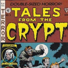 Cómics: TALES FROM THE CRYP-T #3 1990 NOVEMBER-DOUBLE SIZED HORROR. Lote 191466530