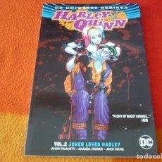 Cómics: HARLEY QUINN VOL. 2 JOKER LOVES HARLEY ( EN INGLES ) ¡MUY BUEN ESTADO! DC UNIVERSE REBIRTH. Lote 191767362