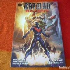 Cómics: BATMAN BEYOND VOLUME 2 CITY OF YERTERDAY ( JURGENS ) ( EN INGLES ) ¡MUY BUEN ESTADO! DC. Lote 191797142
