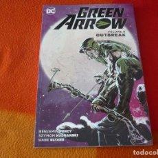 Cómics: GREEN ARROW VOLUME 9 OUTBREAK ( PERCY ) ( EN INGLES ) ¡MUY BUEN ESTADO! DC. Lote 191797200