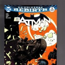 Cómics: BATMAN 3 - DC REBIRTH 2016 VFN/NM - TOM KING / I AM GOTHAM. Lote 191877717