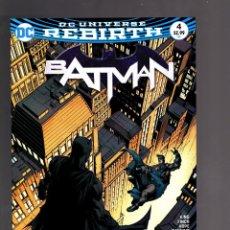 Cómics: BATMAN 4 - DC REBIRTH 2016 VFN/NM - TOM KING / I AM GOTHAM. Lote 191877832