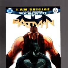 Cómics: BATMAN 11 - DC REBIRTH 2017 VFN/NM / TOM KING / I AM SUICIDE. Lote 191878918