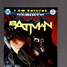 Cómics: BATMAN 13 - DC REBIRTH 2017 VFN/NM / TOM KING / I AM SUICIDE. Lote 191879837