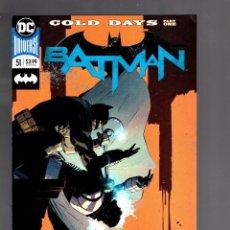 Cómics: BATMAN 51 - DC 2018 VFN/NM / TOM KING / COLD DAYS. Lote 191903081