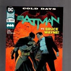 Cómics: BATMAN 52 - DC 2018 VFN/NM / TOM KING / COLD DAYS. Lote 191903150