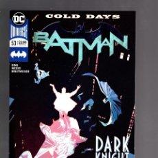 Cómics: BATMAN 53 - DC 2018 VFN/NM / TOM KING / COLD DAYS. Lote 191903235