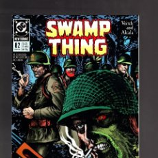 Fumetti: SWAMP THING 82 - DC 1989 VFN/NM / SGT ROCK. Lote 192032583