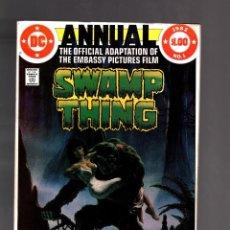 Fumetti: SWAMP THING ANNUAL 1 - DC 1982 VFN- / MOVIE ADAPTATION. Lote 192039317