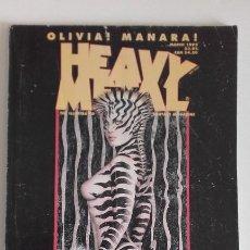 Cómics: HEAVY METAL MATURE ILLUSTRATED FANTASY MAGAZINE. MARCH 1995. Lote 192093848