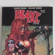 Cómics: HEAVY METAL MATURE ILLUSTRATED FANTASY MAGAZINE. MARCH 1998. Lote 192314166