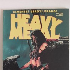 Cómics: HEAVY METAL MATURE ILLUSTRATED FANTASY MAGAZINE. JULY 1995. Lote 192314341