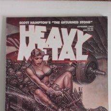 Cómics: HEAVY METAL MATURE ILLUSTRATED FANTASY MAGAZINE. SEPTEMBER 1993. Lote 192315467