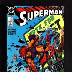 Cómics: SUPERMAN 24 - DC 1988 VFN- / STERN & GAMMILL. Lote 192414003
