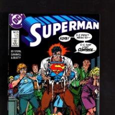 Cómics: SUPERMAN 25 - DC 1988 VFN / STERN & GAMMILL. Lote 192414070