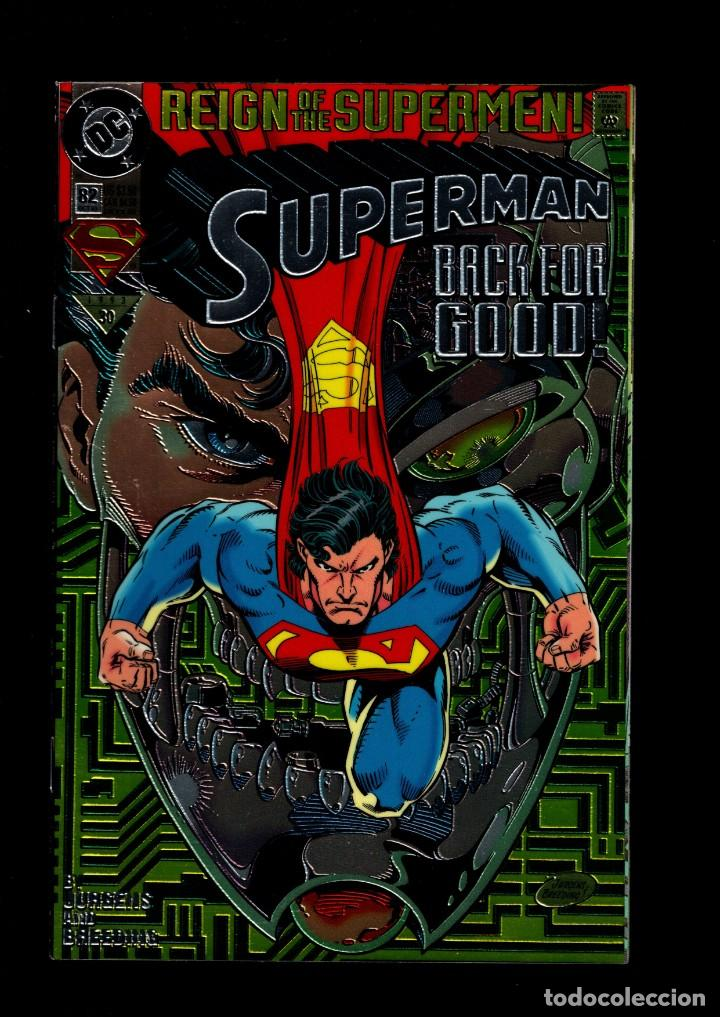 SUPERMAN 82 - DC 1993 VFN/NM / REIGN OF THE SUPERMEN / CHROMIUM COVER COLLECTOR'S EDITION (Tebeos y Comics - Comics Lengua Extranjera - Comics USA)