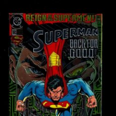 Cómics: SUPERMAN 82 - DC 1993 VFN/NM / REIGN OF THE SUPERMEN / CHROMIUM COVER COLLECTOR'S EDITION. Lote 192435066