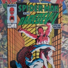 Cómics: SPIDERMAN AND DAREDEVIL SPECIAL EDITION FRANK MILLER. Lote 192693892