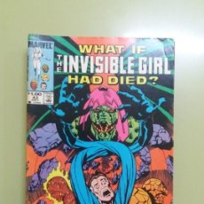Cómics: THE INVISIBLE GIRL Nº 42 1983 MARVEL. Lote 193371960