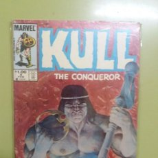 Cómics: KULL THE CONQUEROR. Nº 4 MARVEL. Lote 193372886