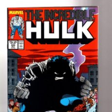 Cómics: INCREDIBLE HULK 333 - MARVEL 1987 VFN / PETER DAVID & TODD MC FARLANE. Lote 194200093