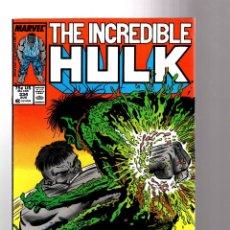 Cómics: INCREDIBLE HULK 334 - MARVEL 1987 FN+ / PETER DAVID & TODD MCFARLANE / 1ST IMMORTAL GAMMA MONSTER. Lote 194200226