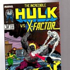 Cómics: INCREDIBLE HULK 336 - MARVEL 1987 FN/VFN / PETER DAVID & TODD MCFARLANE / VS X-FACTOR !. Lote 194200492