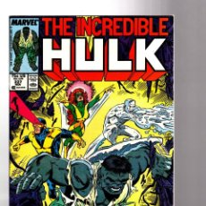 Cómics: INCREDIBLE HULK 337 - MARVEL 1987 VFN+ / PETER DAVID & TODD MCFARLANE / X-FACTOR !. Lote 194200617