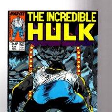 Cómics: INCREDIBLE HULK 339 - MARVEL 1988 VFN / PETER DAVID & TODD MCFARLANE. Lote 194209376